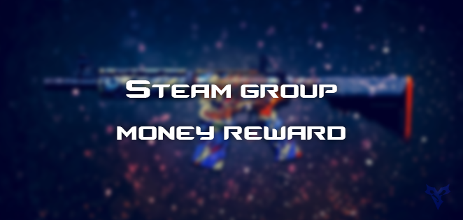 Steam Group Money Reward